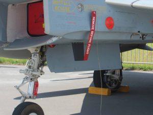 Remove Before Flight Band Militär Eurojet