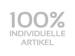 100% individuelle Artikel