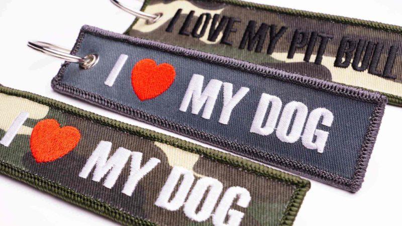 I love my Dog Schlüsselanhänger verschiedene Motive