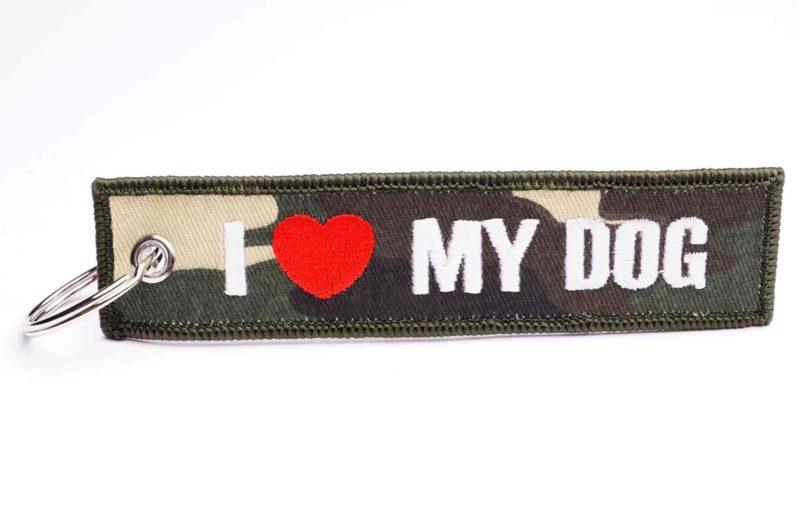 I love my Dog Schlüsselanhänger