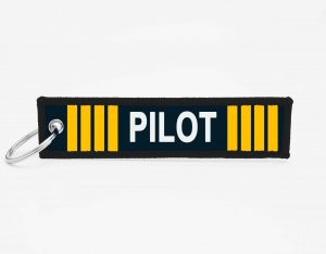 PILOT Schluesselanhaenger mit logo