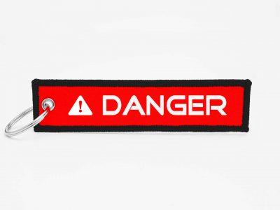 DANGER Schlüsselanhänger individuell mit Logo