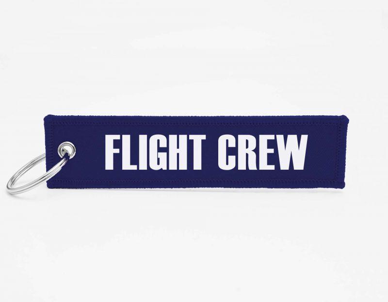 FLIGHT CREW Schluesselanhaenger mit logo
