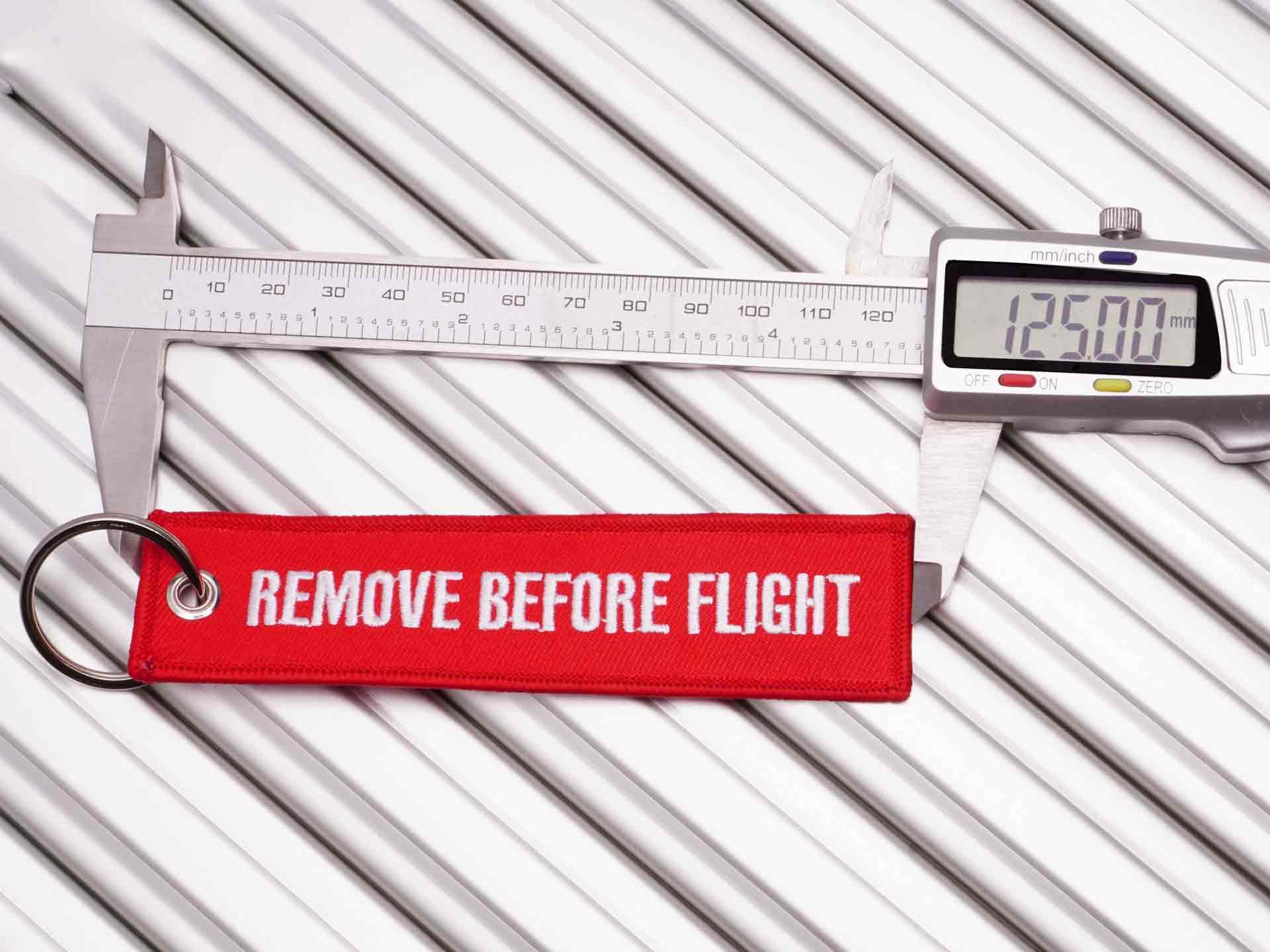 remove before flight Standardgroesse