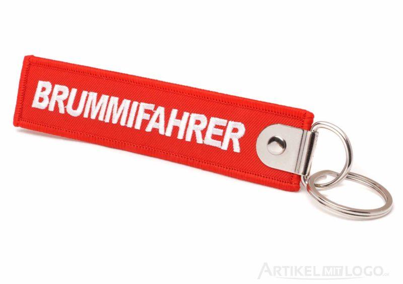 artikel-mit-logo.de Schluesselanhaenger Brummifahrer