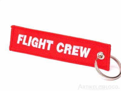 artikel-mit-logo.de Schluesselanhaenger FLIGHT CREW