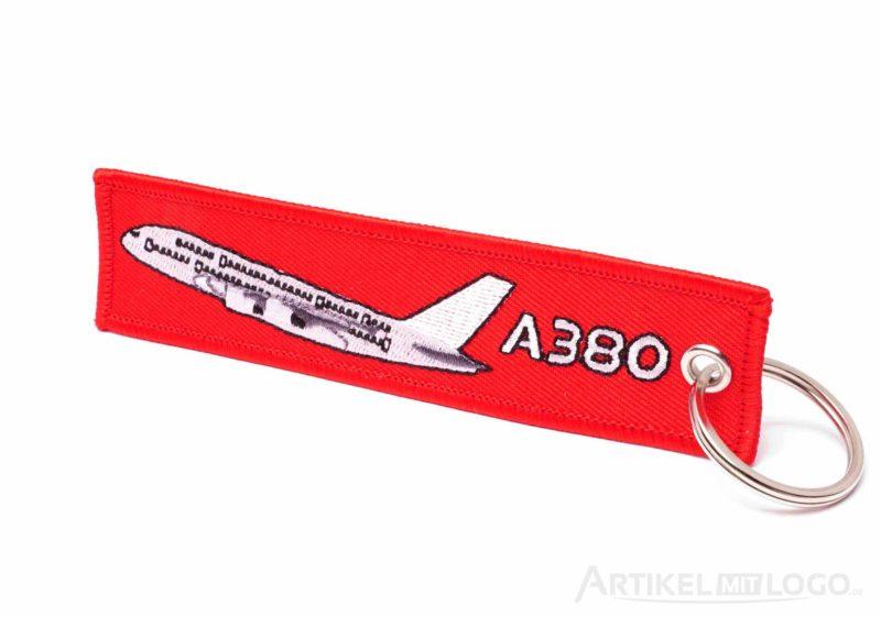 artikel-mit-logo.de Schluesselanhaenger Airbus A380
