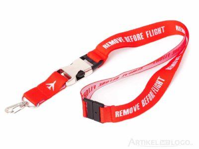Lanyard Flaschenoeffner Remove-Before-Flight