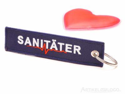 Sanitäter Schlüsselanhänger