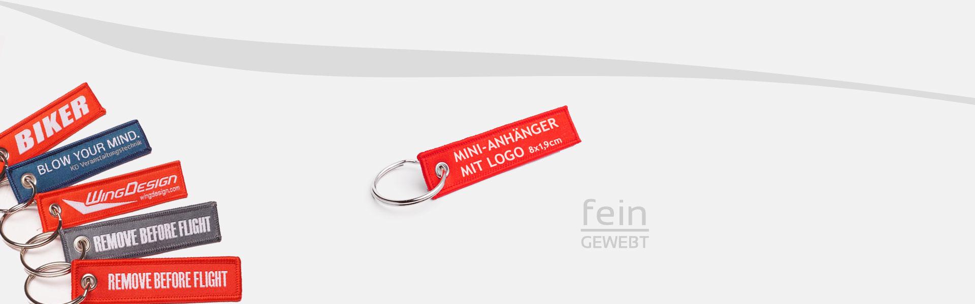 Mini Schlüsselanhänger Header