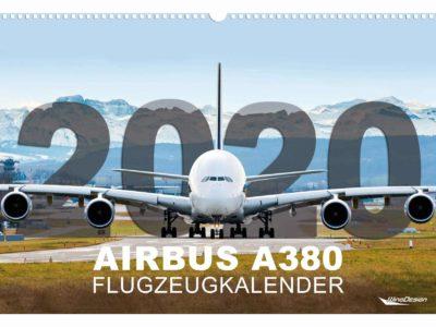 Wingdesign Airbus A380 Kalender
