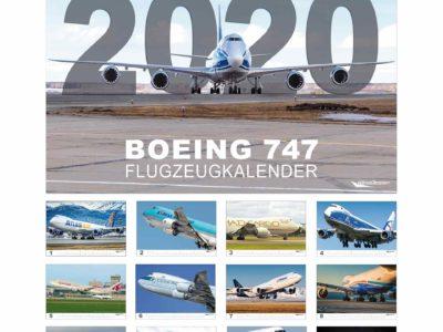 Wingdesign Boing 747 Kalender