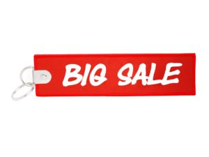 Großer XL Schlüsselanhänger Big Sale