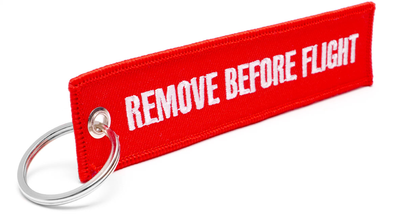 Remove Before Flight Anhänger