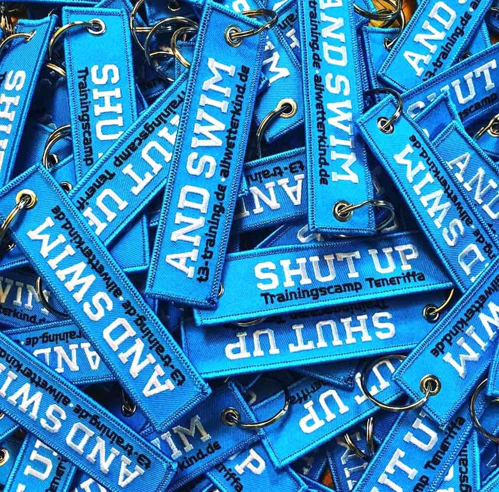allwetterkind Schlüsselanhänger blau