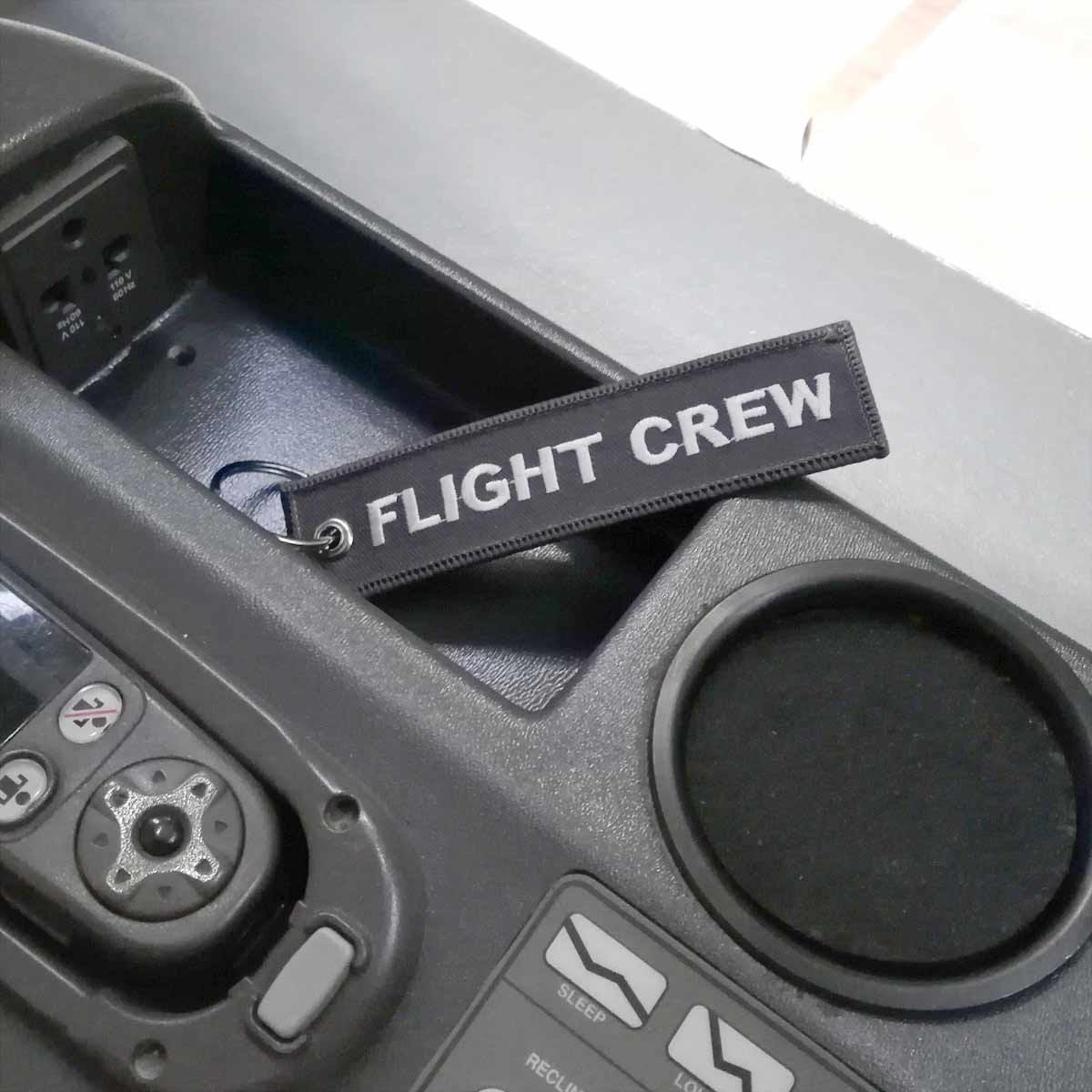 Flight Crew Schlüsselanhänger im Flugzeug