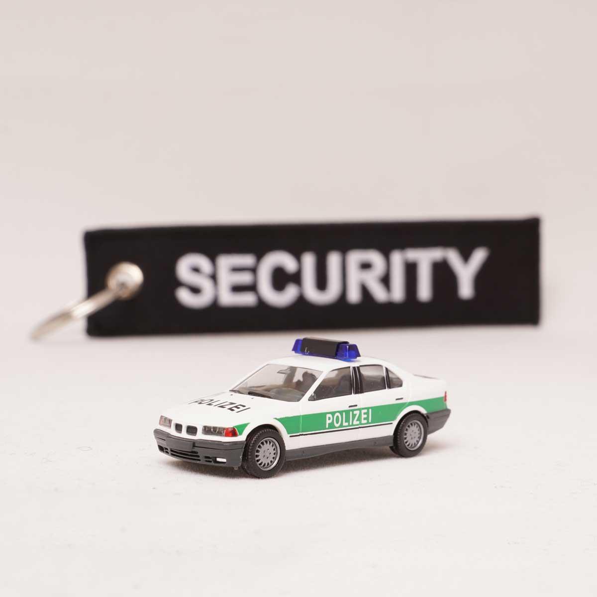 Polizei Security Schlüsselanhänger