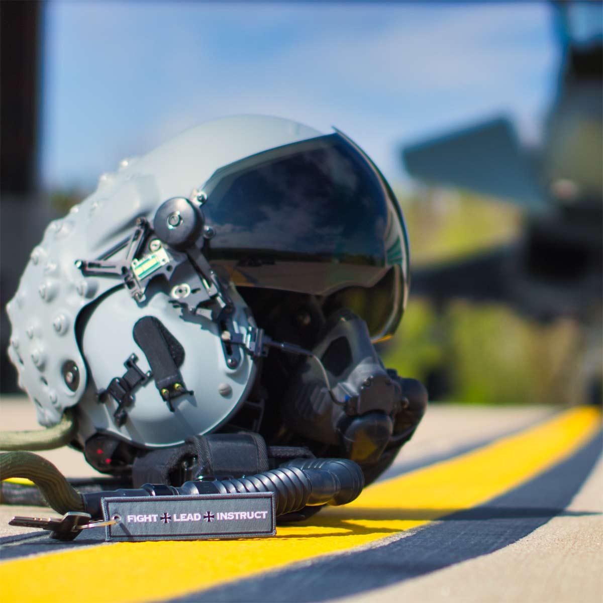 Luftwaffe Schlüsselanhänger vor Eurofighter